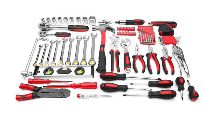 Warsztat narzędziowy  tych narzędzi nie może w nim zabraknąć