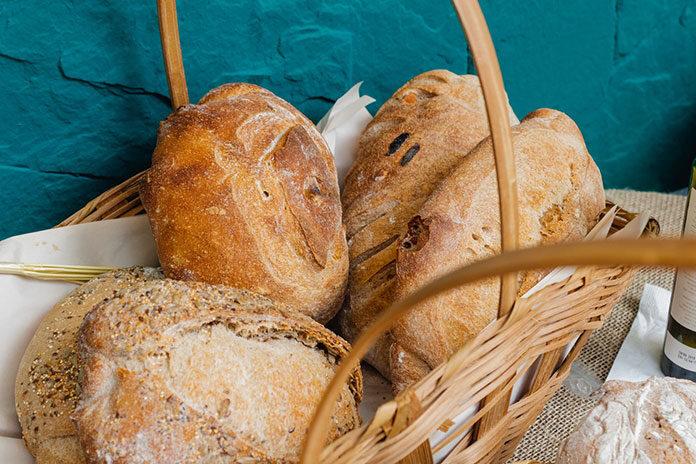 Świeży chleb w domu